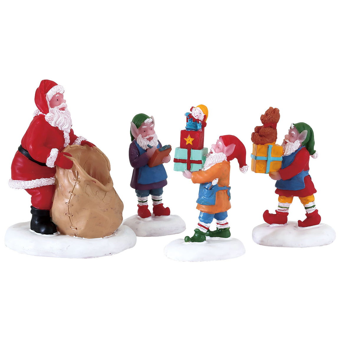 Lemax 72553 Present Procession, Figurine- Gift Spice