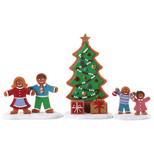 Lemax 72565 Decorating the Tree, Figurine- Gift Spice