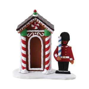Lemax 72567 Sugar Cookie Sentry, Figurine- Gift Spice