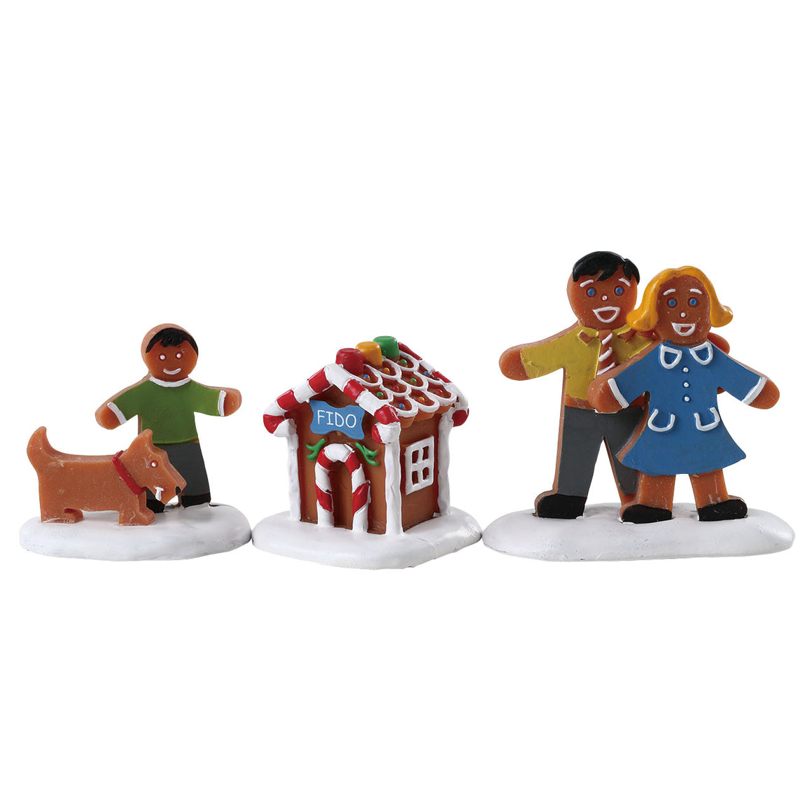 Lemax 72569 Fido's New House, Figurine- Gift Spice