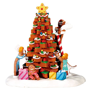 Lemax 73291 The Family Tree, Table Piece- Gift Spice