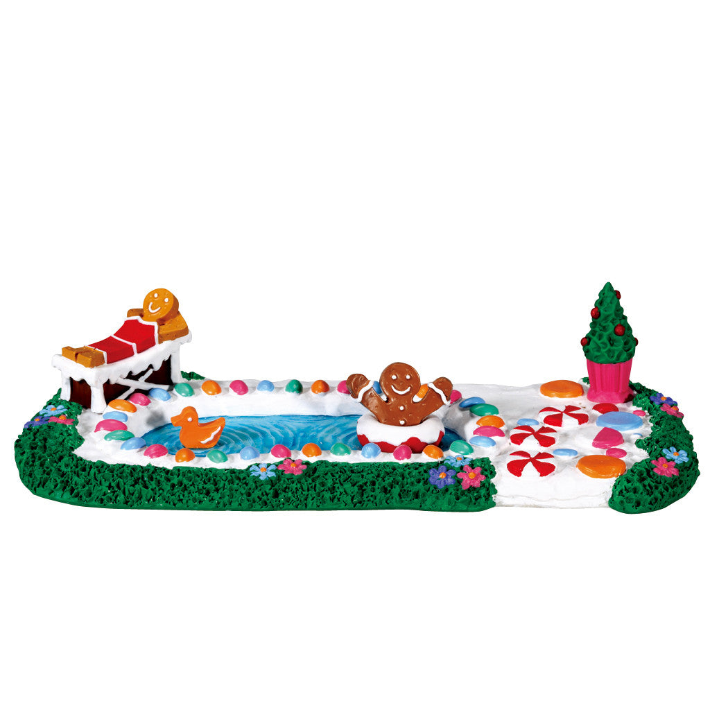Lemax 73293 Sweet Swim Day, set of 3, Table Piece- Gift Spice
