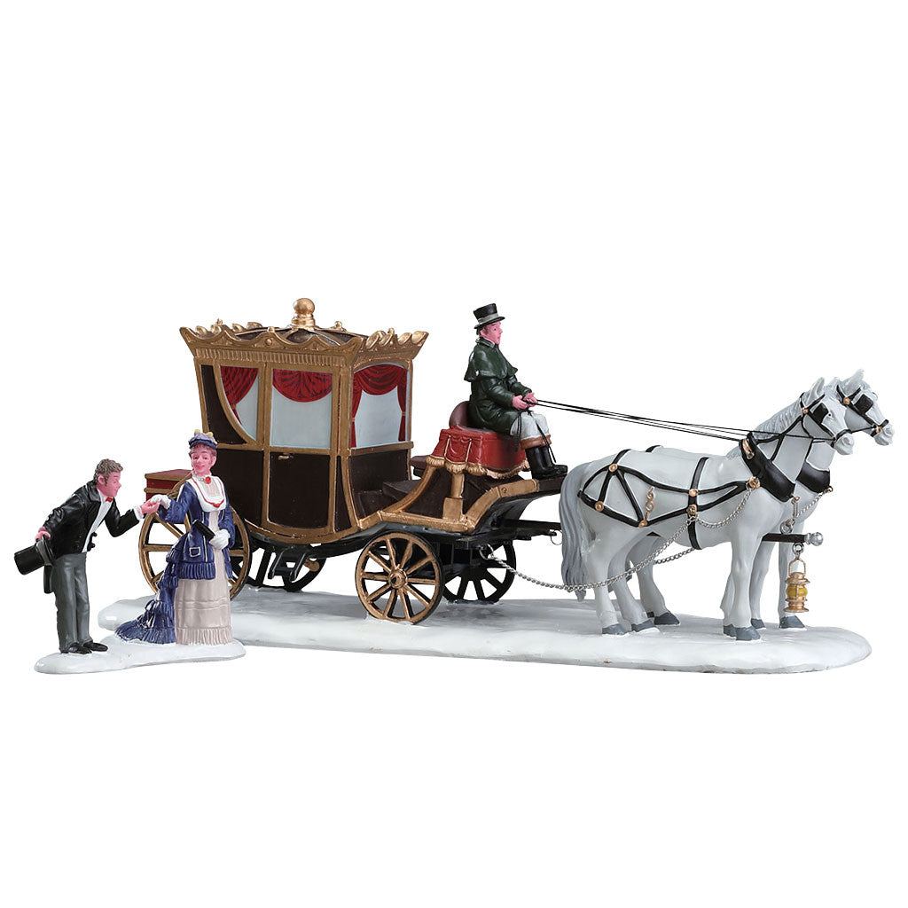 Lemax 73309 Duchess Arrives, Table Piece- Gift Spice