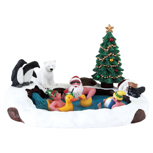 Lemax 73331 North Pole Hot Springs, Table Piece- Gift Spice