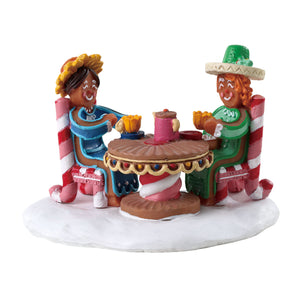 Lemax 73337 Tea and Cakes, Table Piece- Gift Spice