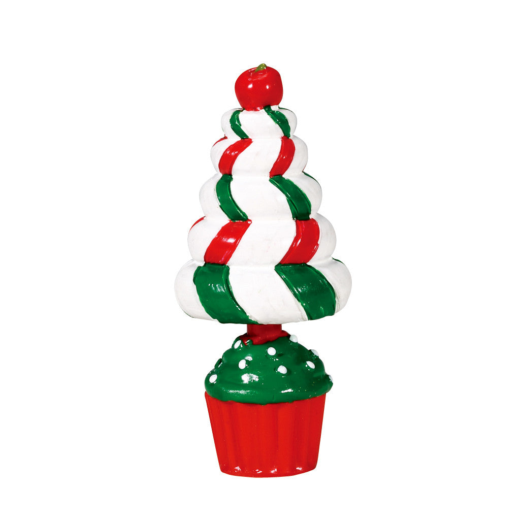 74204 Peppermint Tree Topiary, Lemax Collectibles- Gift Spice