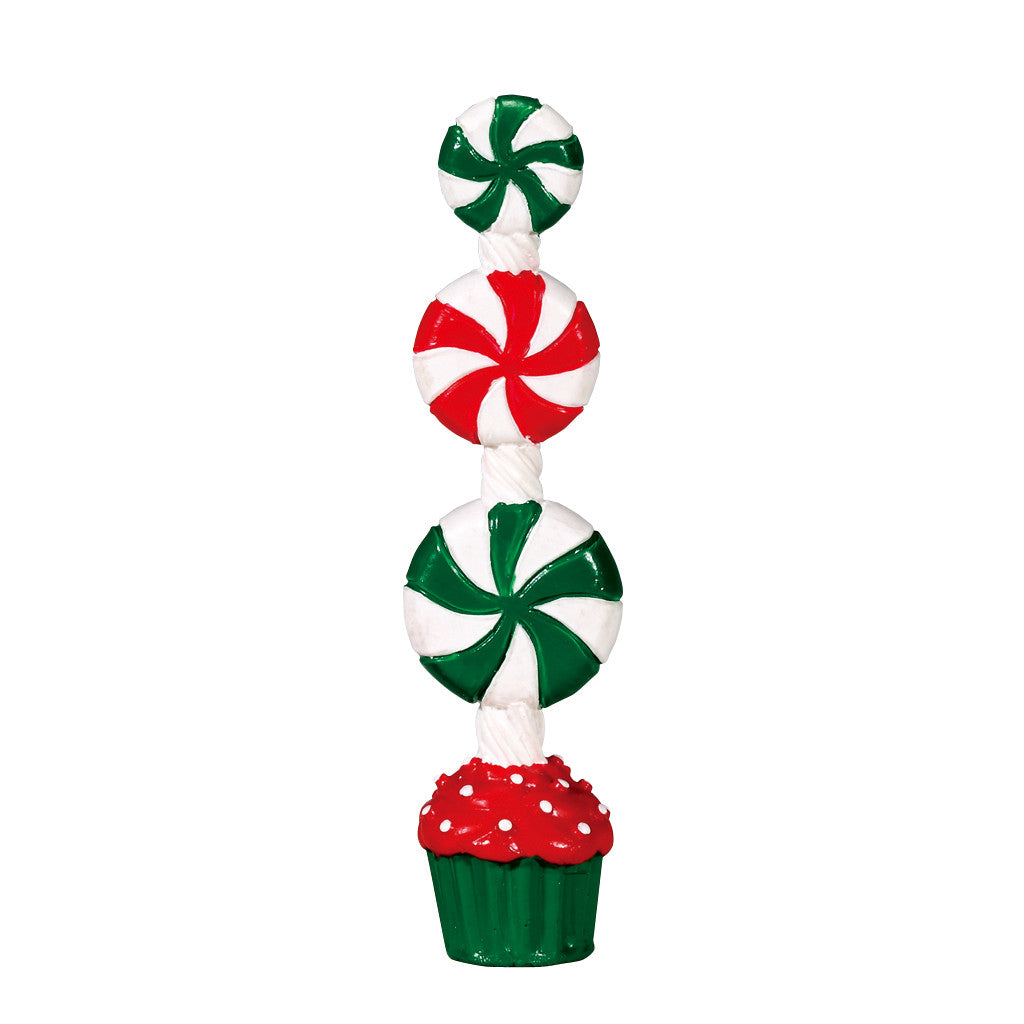 74208 Peppermint Candy Topiary, Lemax Collectibles- Gift Spice