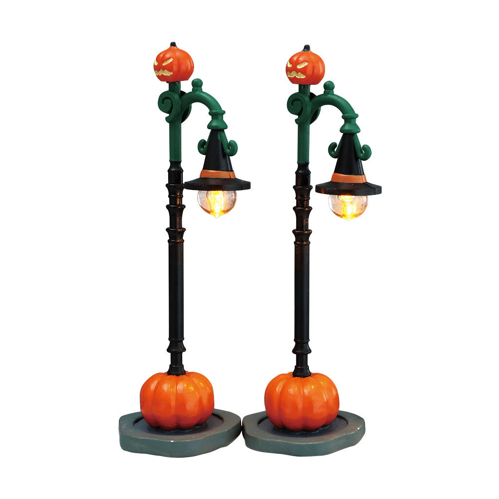 Lemax 74217 Witch Pumpkin Patch, Accessory- Gift Spice