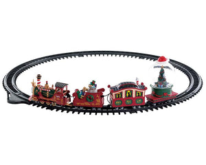 Lemax 74223 North Pole Railway, Sights and Sound piece- Gift Spice