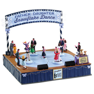 Lemax 74224 Father Daughter Dance, Sights and Sound piece- Gift Spice