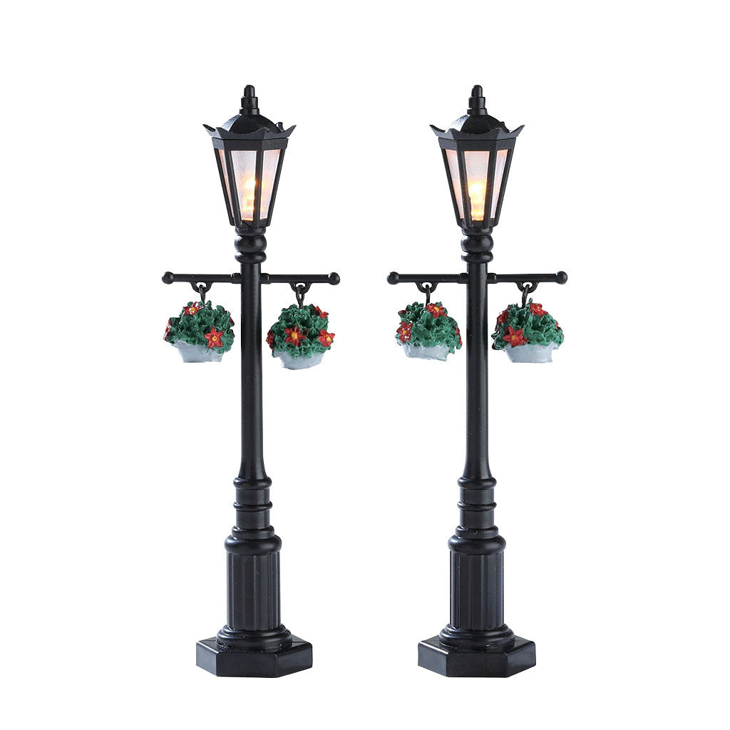 Lemax 74231 Old English Lamp Post, Accessory- Gift Spice