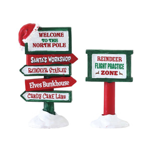 Lemax 74325 North Pole Signs, Accessory- Gift Spice