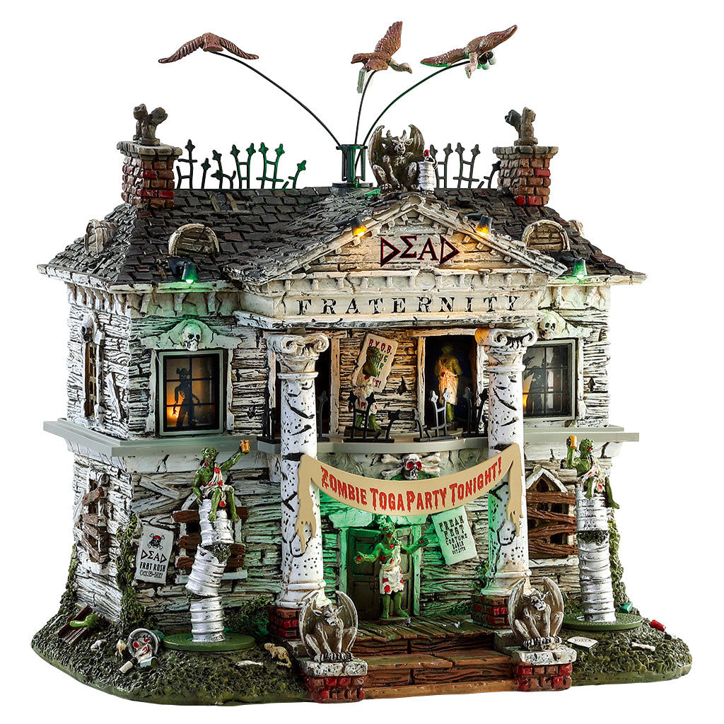 Lemax 75171 Dead Fraternity, Sights and Sound piece- Gift Spice