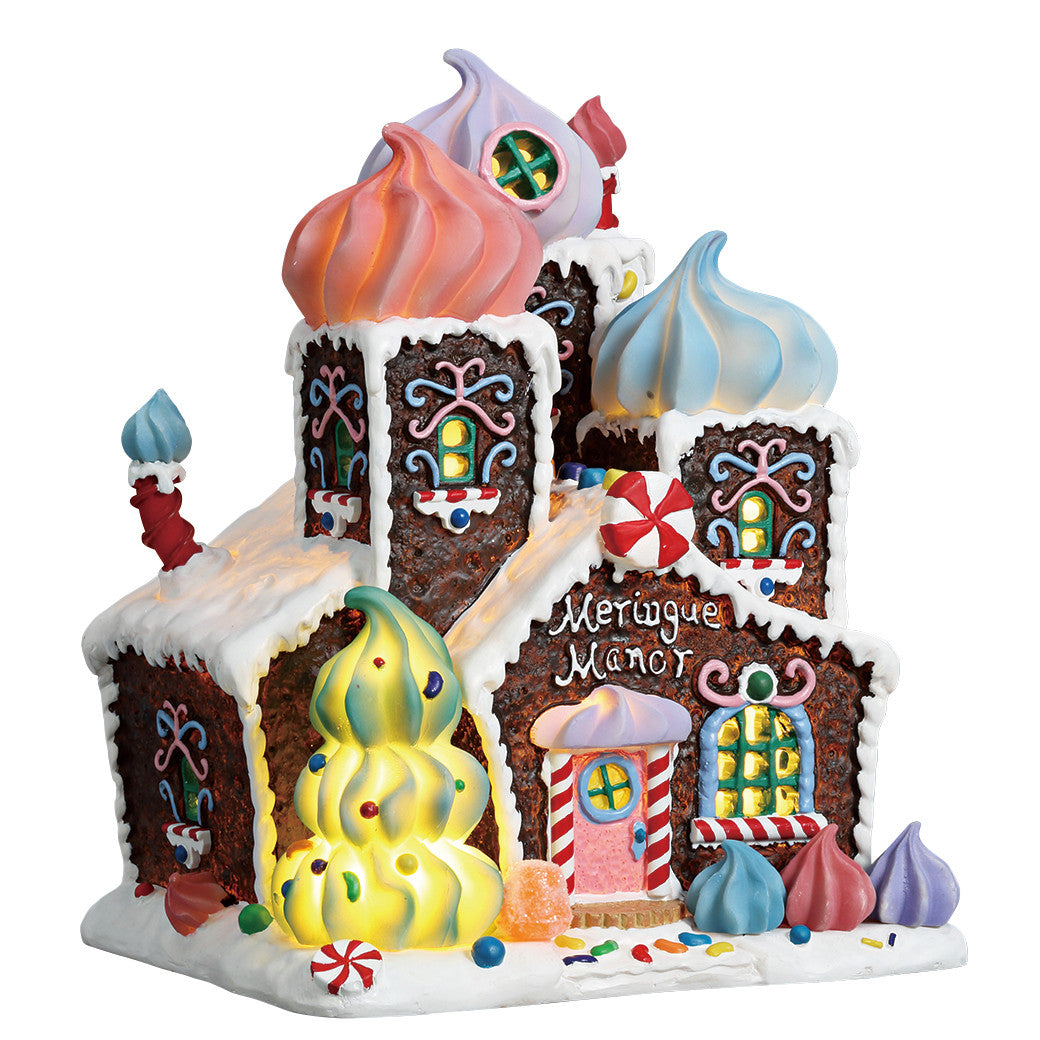 Lemax 75179 Meringue Manor, Standard Lighted Building- Gift Spice