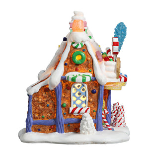 Lemax 75181 The Candy Shop, Standard Lighted Building- Gift Spice