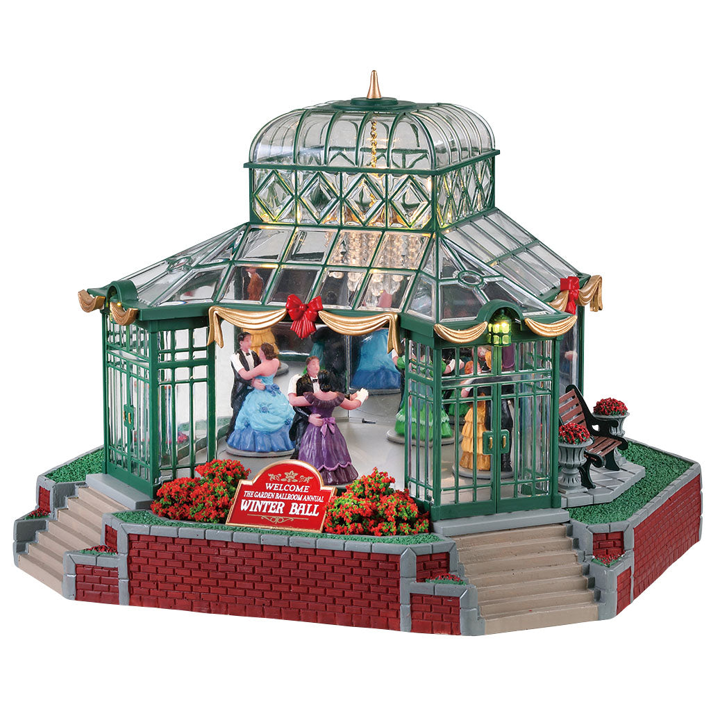 Lemax 75189 The Garden Ballroom, Sights and Sound piece- Gift Spice