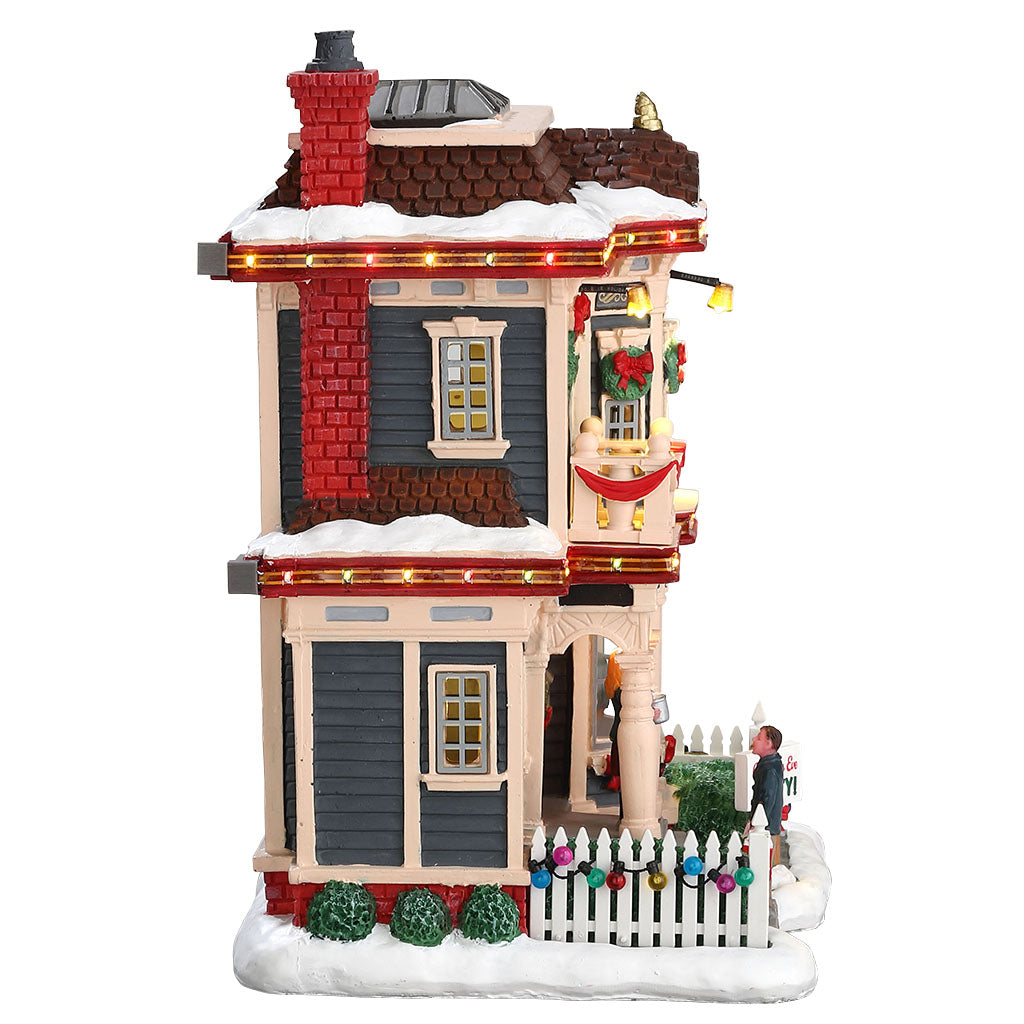 Lemax 75193 Christmas Eve Party, Standard Lighted Building- Gift Spice