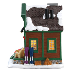 Lemax 75202 Good Morning Joe, Standard Lighted Building- Gift Spice
