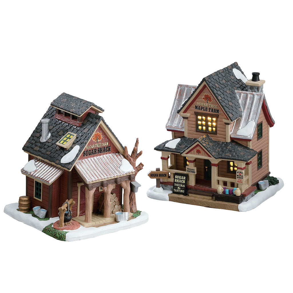 Lemax 75207 Sugartree Maple Farm, Standard Lighted Building- Gift Spice