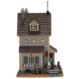 Lemax 75209 Harbor Gift Shop, Standard Lighted Building- Gift Spice