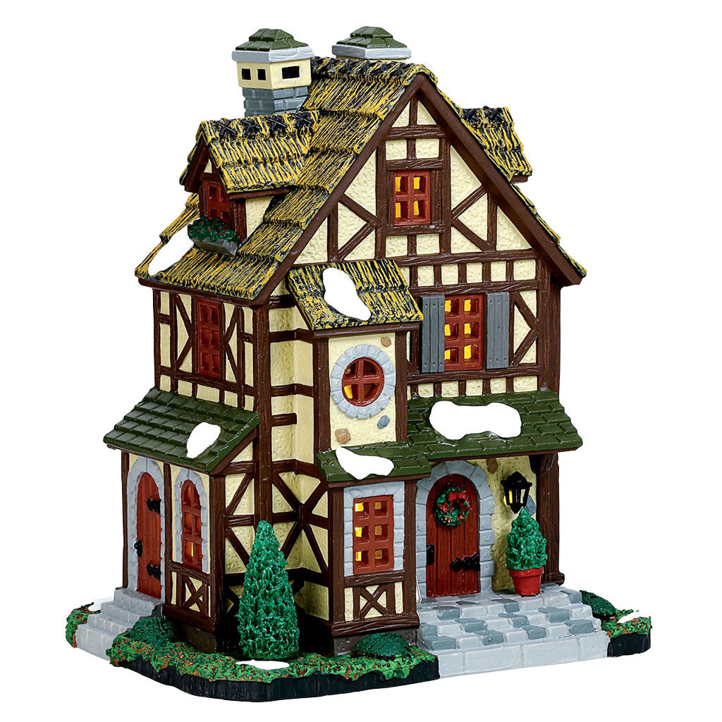 Lemax 75245 Mon Reve Cottage, Standard Lighted Building- Gift Spice