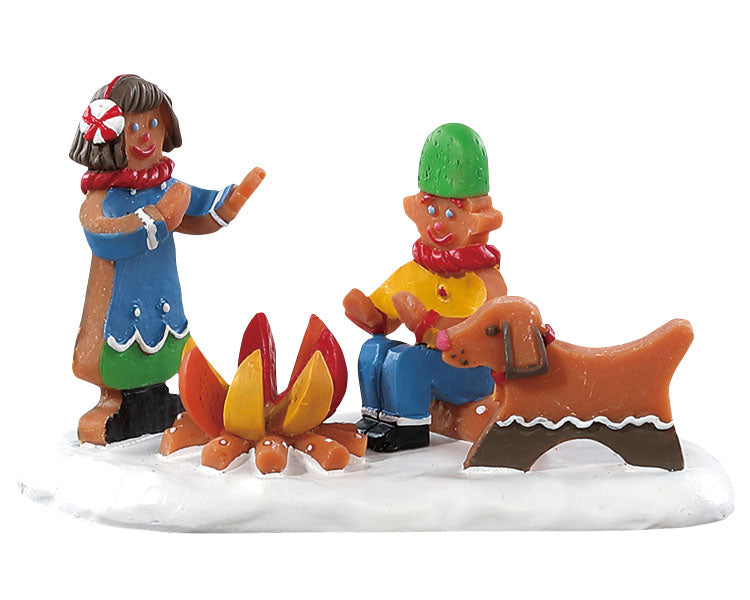 Lemax 82592 Campfire Cookies, Figurine- Gift Spice
