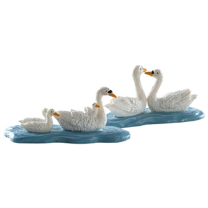 Lemax 82613 Swans Set Of 2, Figurine- Gift Spice