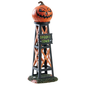 Lemax 83341 Evil Pumpkin Water Tower, Table Piece- Gift Spice