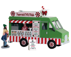 Lemax 83364 Peppermint Food Truck, Table Piece- Gift Spice