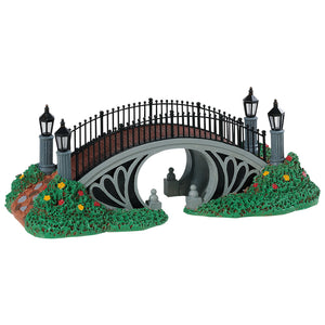 Lemax 83371 Victorian Footbridge, Table Piece- Gift Spice