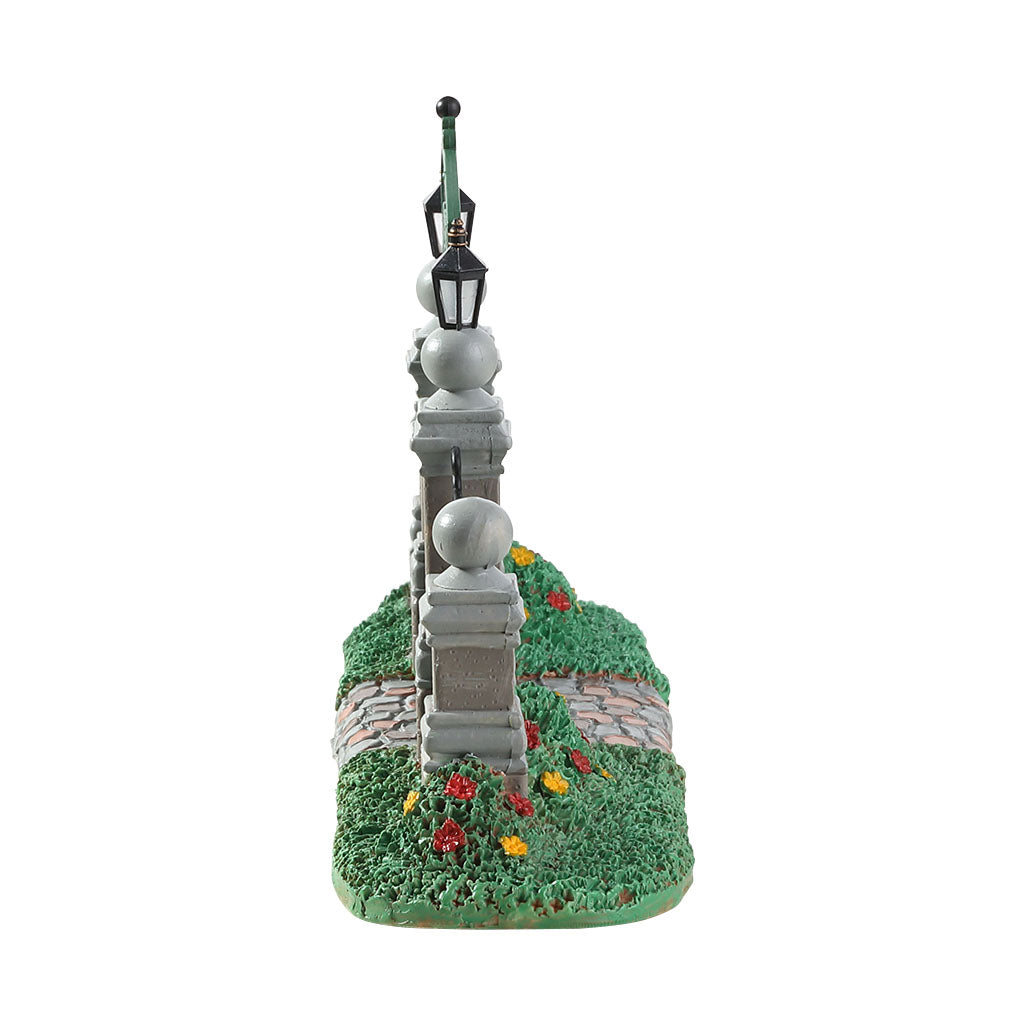 Lemax 83372 Victoria Park Gateway, Table Piece- Gift Spice