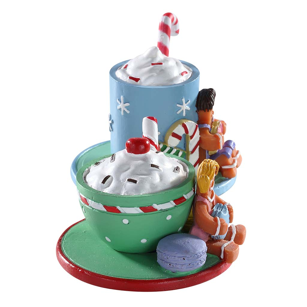 Lemax 83383 Cocoa and Cookies, Table Piece- Gift Spice