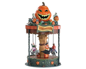 Lemax 84331 Eerie-Go-Round, Sights and Sound piece- Gift Spice