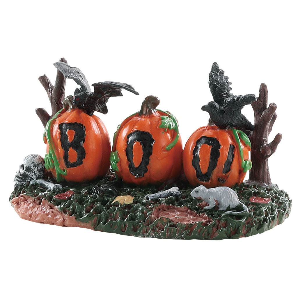 Lemax 84339 Boo Pumpkins, Accessory- Gift Spice