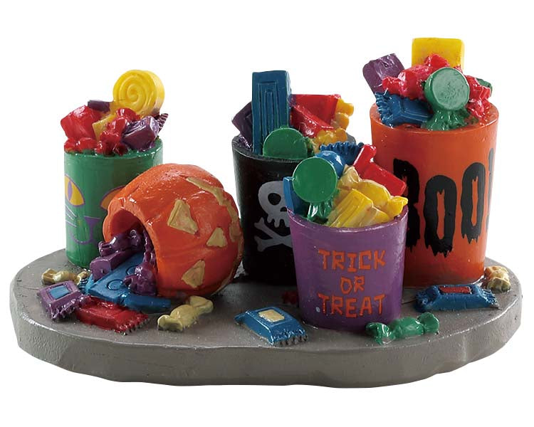 Lemax 84341 Buckets of Candy, Accessory- Gift Spice