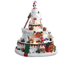 Lemax 84348 North Pole Tower, Sights and Sound piece- Gift Spice