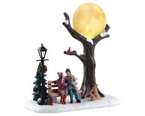 Lemax 84359 Christmas Moon, Table Piece- Gift Spice