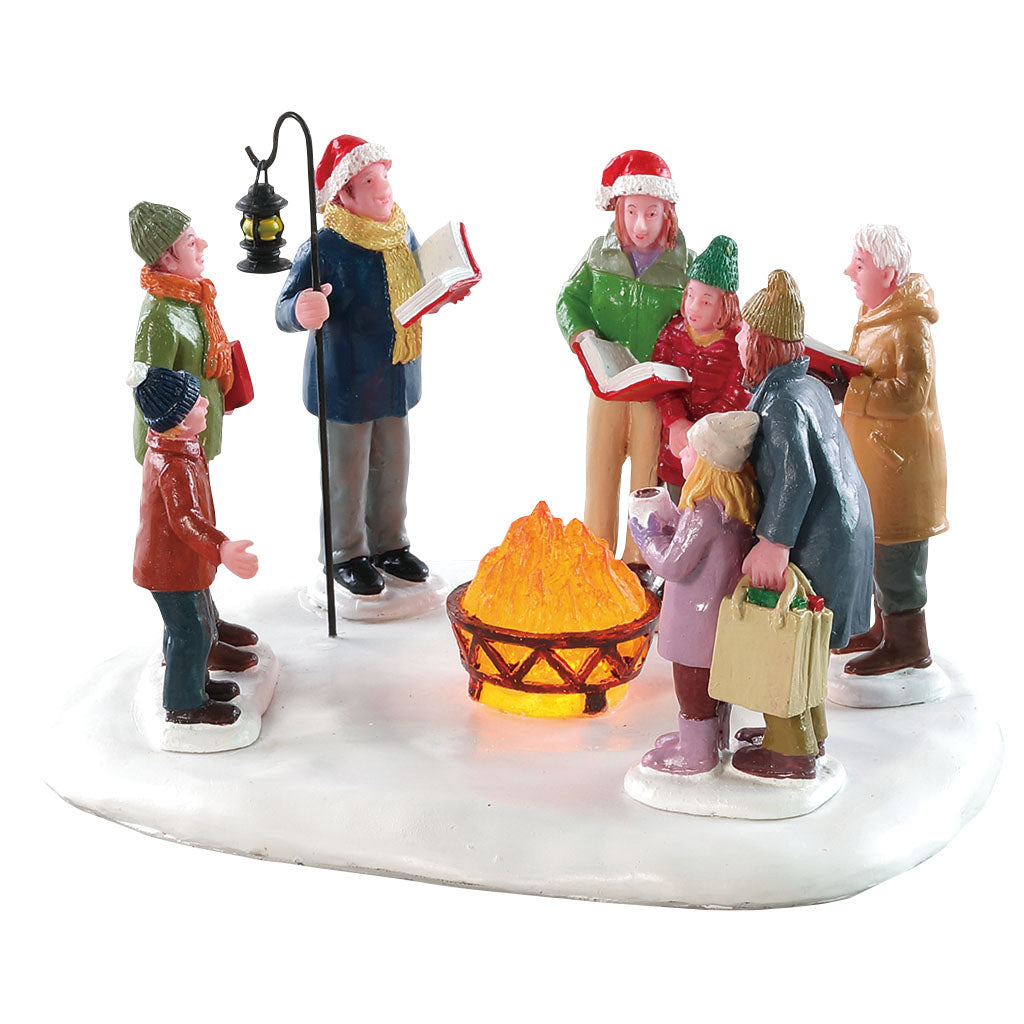Lemax 84362 Toasty Caroling, Table Piece- Gift Spice