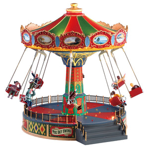 Lemax 84379 The Sky Swing, Sights and Sound piece- Gift Spice