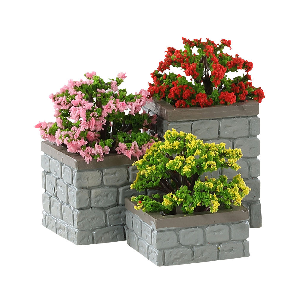 Lemax 84380 Flower Bed Boxes, Accessory- Gift Spice