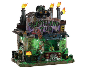 Lemax 85305 Wasteland Pub, Standard Lighted Building- Gift Spice