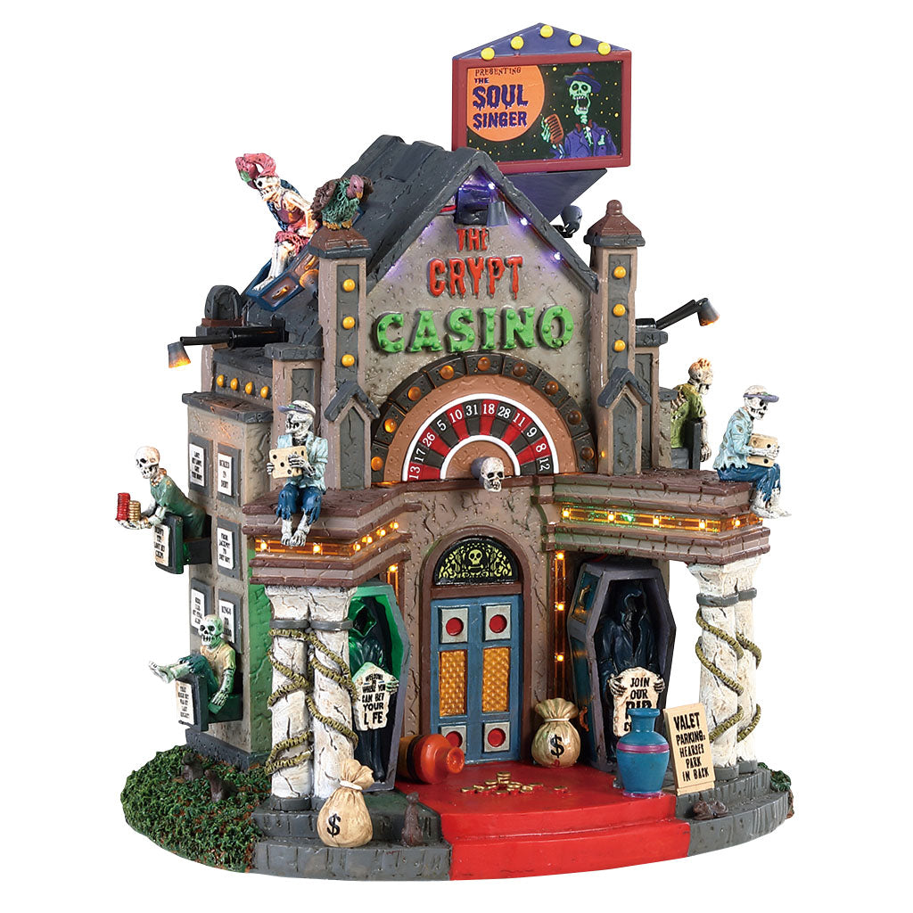 Lemax 85307 The Crypt Casino, Standard Lighted Building- Gift Spice