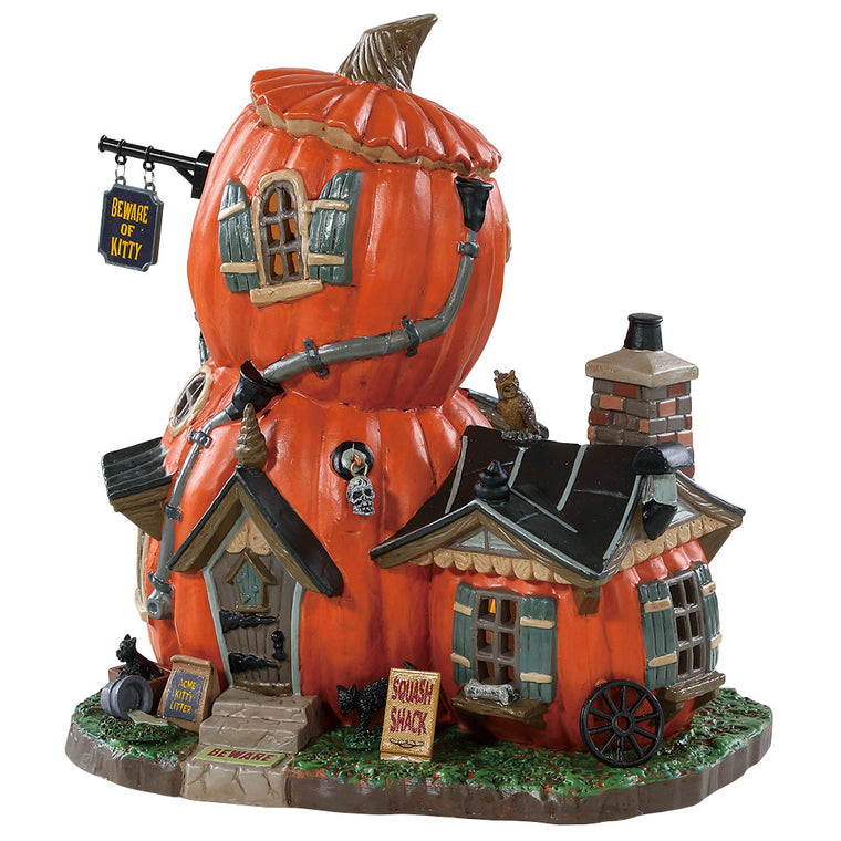 Lemax 85310 Squash Shack, Standard Lighted Building- Gift Spice