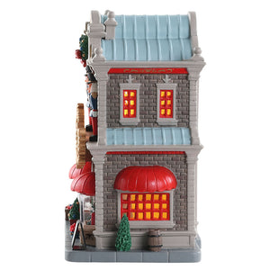 Lemax 85344 Nora's Christmas Boutique, Standard Lighted Building- Gift Spice