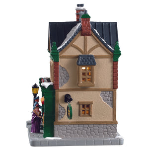 Lemax 85364 Caddington Post, Standard Lighted Building- Gift Spice