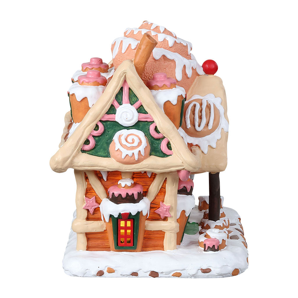 Lemax 85383 Cinna-Swirl Cabin, Standard Lighted Building- Gift Spice