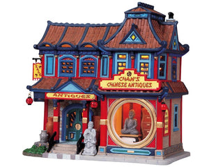 Lemax 85713 Chan's Chinese Antiques, Standard Lighted Building- Gift Spice
