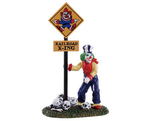 Lemax 92734 Crazy Clown Conductor, Figurine- Gift Spice