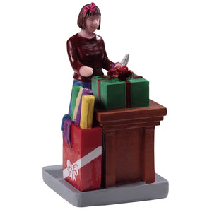 Lemax 92741 Ribbons and Bows, Figurine- Gift Spice