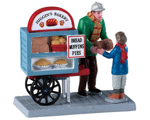 Lemax 92749 Delivery Bread Cart, Figurine- Gift Spice